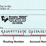Routing Number / ABA Number