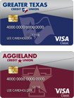 Greater Texas | Aggieland Classic Credit Cards
