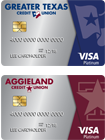 Greater Texas | Aggieland Platinum Credit Cards