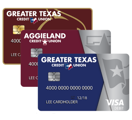 Greater Texas credit cards Aggieland credit card